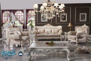 Set Sofa Ruang Tamu Mewah Armchair Ukiran Jepara Terbaru