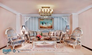 Set Sofa Tamu Mewah Classic bernard Terbaru