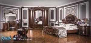 Bedroom Set Tempat Tidur Mewah Klasik Barococo Jepara Terbaru