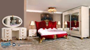 Set Kamar Tidur Mewah Okumus Mobilya Ukir Cantik Terbaru