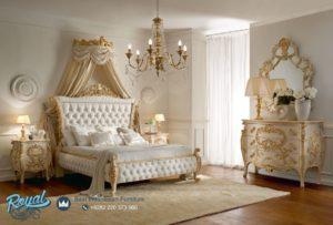 Set Kamar Tidur Mewah Style Bedroom Ukir Model Terbaru