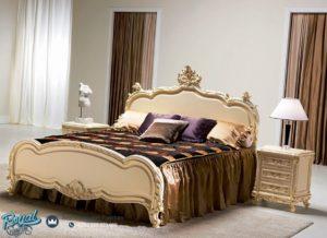 Set Kamar Tidur Mewah Ukir Klasik Larissa Terbaru, Tempat Tidur Mewah
