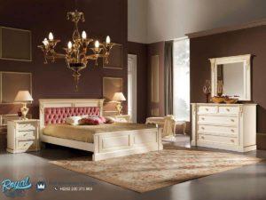 Set Kamar Tidur Square Bedroom Furniture Mewah Desain Terbaru