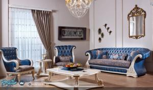 Set Kursi Sofa Tamu Teo Takimi Ukiran Mewah Model Terbaru