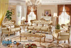 Set Kursi Tamu Sofa Elegant Luxury Furniture Living Room Mewah Terbaru