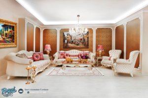 Set Kursi Tamu Sofa Klasik Defner Mewah Terbaru