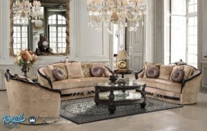 Set Kursi Tamu Sofa Mewah Arimbi Klasikal Modern Furniture Kualitas Terbaik