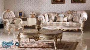 Set Sofa Tamu Dilruba Model Klasik Mewah Duco Terbaru