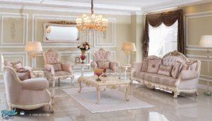 Set Sofa Tamu Duco Mewah Klasik Modern Model Terbaru