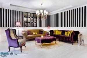 Set Sofa Tamu Klasik Modern Paris Minimalis Terbaru