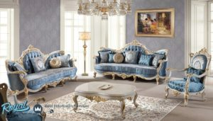 Set Sofa Tamu Mewah Klovu Indoor Furniture Mewah Terbaru