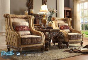 Set Sofa Tamu Mewah Ukiran Klasik Jepara Vienna Mansion Chair