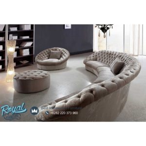 Set Sofa Tamu Minimalis Mewah Luxury Class Furniture Desain Terbaru