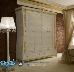 Almari Pakaian 4 Pintu Arredamento Luxury Style Terbaru