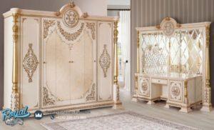 Almari Pakaian Mewah Ayasofa Klasik Model Terbaru