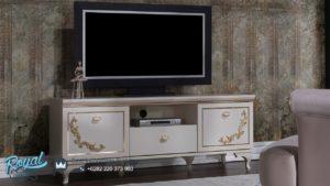 Bufet TV Mewah Astoria Furniture Klasik Model Terbaru