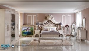 Set Kamar Tidur Mewah Emperial Royal Furniture Bedroom Set Terbaru