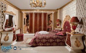 Set Kamar Tidur Mewah Kapaletti Bedroom Klasik Furniture Set Terbaru