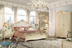 Set Kamar Tidur Mewah Luxury Bedroom Duco Ukiran Mewah Model Terbaru