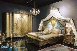 Set Kamar Tidur Mewah Model Klasik Medita Ukiran Mewah Terbaru