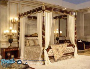 Set Kamar Tidur Mewah Square Stand Design Furniture Bedroom Terbaru