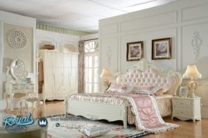 Set Kamar Tidur Model King Size Bedroom Furniture Duco Mewah Terbaru