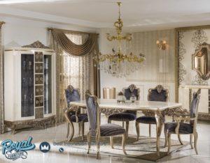 Set Meja Makan Mewah Berat Yemek Furniture Klasik Mewah Terbaru