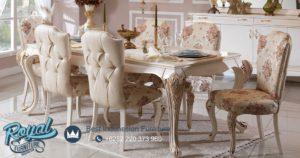 Set Meja Makan Mewah Bosna Klasik Temporary Modern Furniture Terbaru