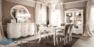 Set Meja Makan Mewah Duco Klasik Modern Dining Room Terbaru