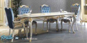 Set Meja Makan Mewah New Design Dining Room Set Klasik Terbaru