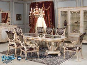 Set Meja Makan Mewah Wallet Klasik Dining Room Sets Terbaru