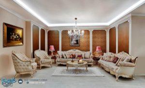 Set Sofa Tamu Mewah Classic Arnica Elegan Style Terbaru