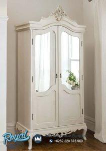 Almari 2 Pintu Model Klasik Ukiran Simply Furniture Bedroom Terbaru