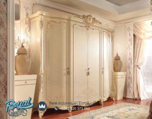 Almari Pakaian 4 Pintu Mewah Barnini Duco Klasik Terbaru
