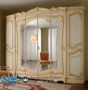 Lemari Pakaian 6 Pintu Mewah Ukiran Mebel Jepara Terbaru