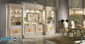 Set Bufet Lemari Hias Mewah Italian Classi Furniture Bufet TV