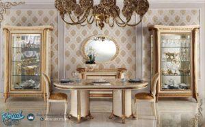 Set Bufet Mewah Arredoclassic Dining Room Set Terbaru