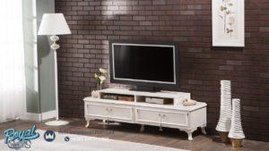 Set Bufet TV Minimalis Belissa Plazma Model Furniture Rumah