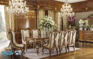 Set Furniture Living Room Meja Makan Mewah Model Terbaru