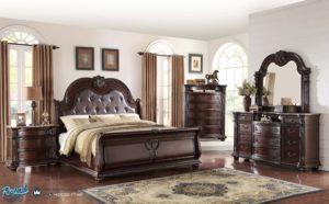 Set Kamar Tidur Mewah Jati Klasik Furniture Set Bedroom Ukir Jepara