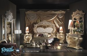 Set Kamar Tidur Mewah Milenias Properties Furniture Ukiran Jepara Terbaru