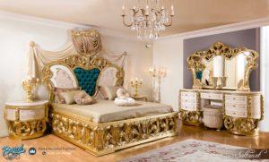 Set Kamar Tidur Mewah Saltanat Yatak Royal Bedroom Furniture Terbaru