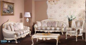 Set Kursi Sofa Tamu Mewah Bedesten Klasikal Furniture Terbaru