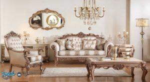 Set Kursi Tamu Sofa Mewah Gonca Klasik Furniture UkIr Jepara Terbaru