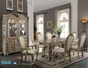 Set Meja Makan Mewah Klasik Design Dining Room Mewah Terbaru