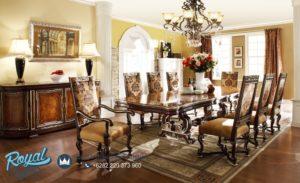 Set Meja Makan Mewah Klasik Dining Room Sets Furniture Klasik Terbaru