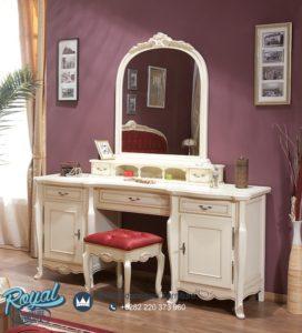 Set Meja Rias Mewah Arcad Klasik Furniture Terbaru