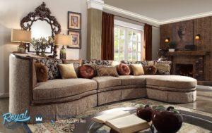 Set Sofa Tamu Mewah Full Jok Model Furniture Kayu Jati Terbaru