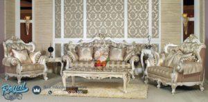 Set Sofa Tamu Mewah Ukiran Jepara Model Klasik Terbaru