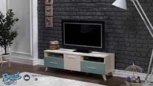 Bufet TV Minimalis Selina Duco Model Bufet Modern Desain Terbaru
